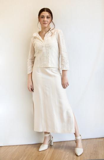 sposa angeli camicia total